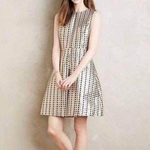 ERIN Fetherston Sophie Dot Metallic Dress SZ 6
